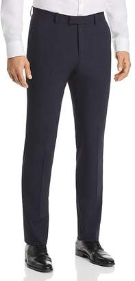 Theory Mayer Seersucker Check Cotton Slim Fit Suit Pants