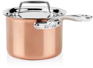 All-Clad c4 Copper 2 qt. Sauce Pan C4202