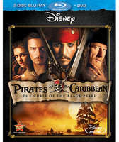 Disney Pirates of the Caribbean: The Curse of the Black Pearl - 2-Disc Combo Pack