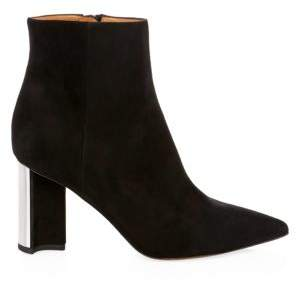 Gucci Clergerie Katia Suede Ankle Bootss