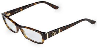 Gucci 53Mm Rectangle Optical Glasses