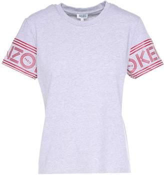Kenzo Rubberized-logo Cotton-jersey T-shirt