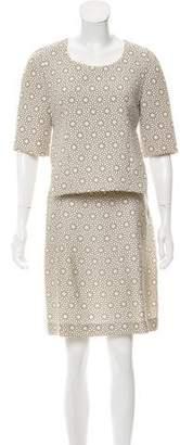 Marni Silk-Blend Printed Dress