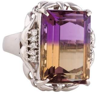 Ring Ametrine & Diamond