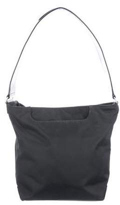 Tumi Leather-Trimmed Shoulder Bag