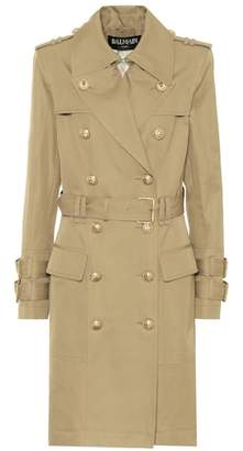 Balmain Cotton trench coat