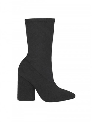 Yeezy BAT CANVAS ANKLE BOOT $595 thestylecure.com