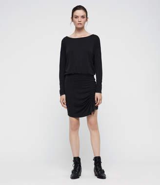 AllSaints Tavi Ruched Dress