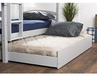 Manor Park Solid Wood Twin Trundle Bed - Grey (Multiple Colors Available)