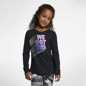 Nike Sportswear Big Kids' (Girls') Long-Sleeve T-Shirt