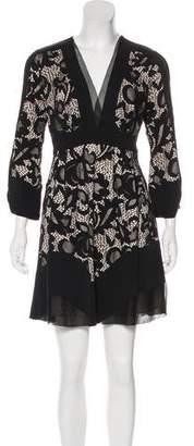 Diane von Furstenberg Fern Floral Lace Dress