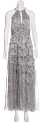 Matthew Williamson Silk Maxi Dress