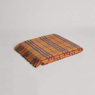 Burberry Check Cashmere Baby Blanket , Size: OS