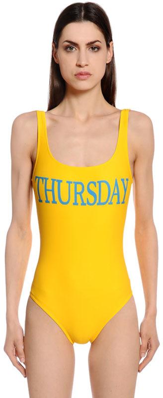 Alberta FerrettiThursday One Piece Swimsuit