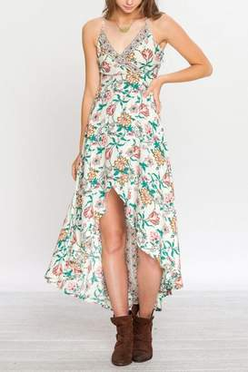 Flying Tomato Floral Gypsy Dress