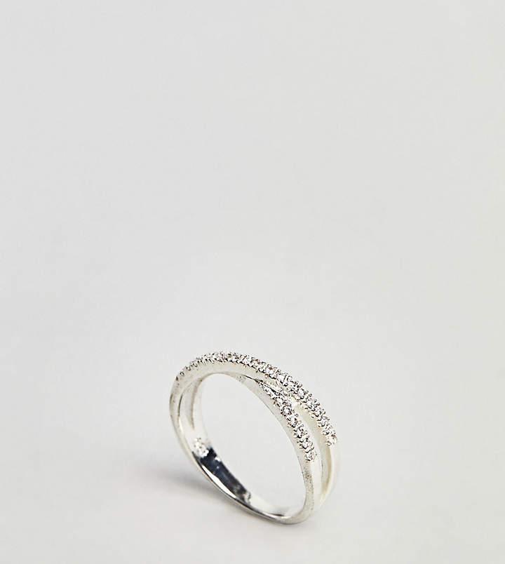 Kingsley Ryan – Ring aus Sterlingsilber mit Kreuz-Design