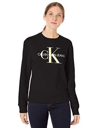 Calvin Klein Women's Monogram Logo Crewneck