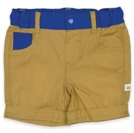 Rosie Pope® Color Block Khaki Short in Blue