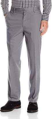 Dockers Straight Fit Signature Khaki Stretch Pant D2, Burma Grey, 38 x 32