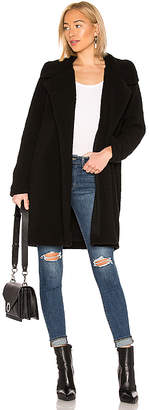 Splendid Faux Sherpa Long Cardigan