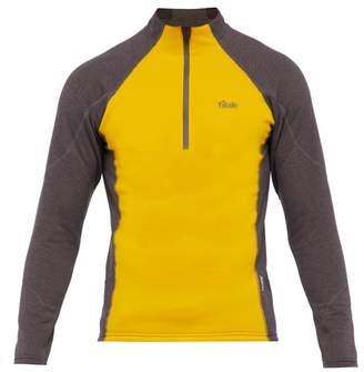 Tilak - Serak Half Zip Top - Mens - Yellow Multi