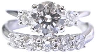 Scott Kay 950 Platinum and 1.45ct Diamond Engagement Ring Size 5