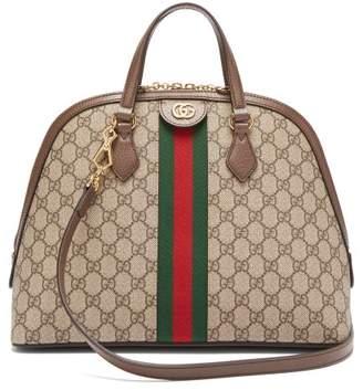 Gucci Ophidia Gg Supreme Tote Bag - Womens - Grey Multi