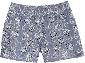 GUESS San Gallo Cotton Shorts, Big Girls