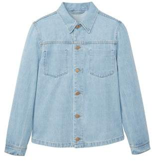 Mango man MANGO MAN Bleached denim jacket