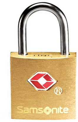 Samsonite Travel Sentry 2 Pack Brass Key Locks $8 thestylecure.com