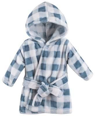 Hudson Baby Plush bathrobe (baby boys or baby girls unisex)