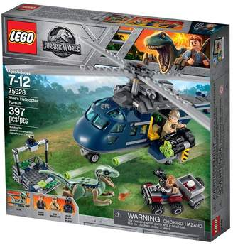 Lego Boys Jurassic World Blue's Helicopter Pursuit