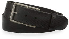 Joe's Jeans Washed Pin-Dot Leather Belt