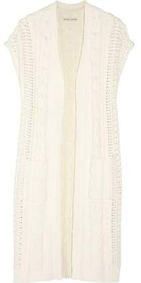 Alice + Olivia Jodi Cable-Knit Cotton-Blend Cardigan