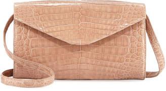 Nancy Gonzalez Amour Small Crocodile Crossbody Bag