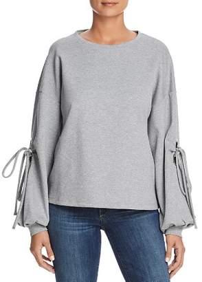 Velvet Heart Lucille Tie-Sleeve Sweatshirt