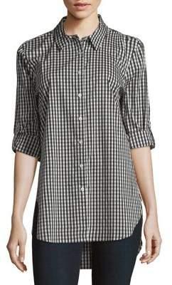 Calvin Klein Gingham Button-Down Shirt