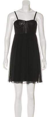 Alice + Olivia Sleeveless Mini Dress w/ Tags