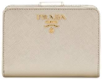 Prada leather classic wallet