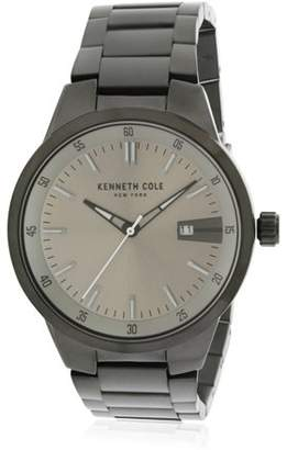 Kenneth Cole New York Kenneth Cole Gunmetal Stainless Steel Mens Watch KCC0131004