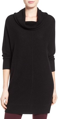 Women's Halogen Cashmere Dolman Sleeve Tunic Sweater $128 thestylecure.com