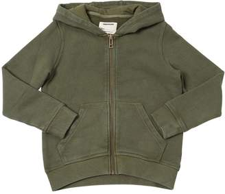 Zadig & Voltaire Printed Cotton Zip-Up Sweatshirt Hoodie