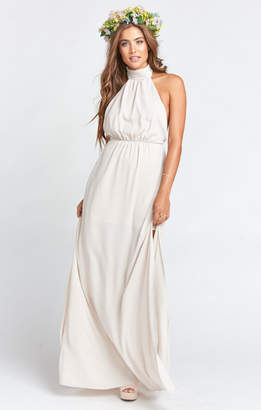 Show Me Your Mumu Collette Collar Dress ~ Show Me the Ring Crisp