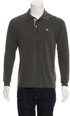 Burberry Button-Up Polo Shirt