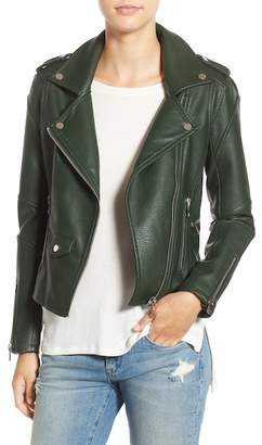 BLANKNYC 'Easy Rider' Faux Leather Moto Jacket $98 thestylecure.com