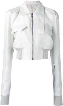 Rick Owens Glitter cropped jacket