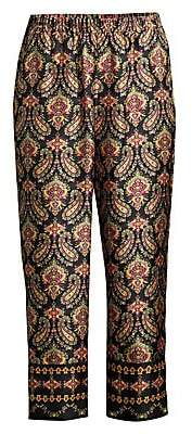 Kobi Halperin Women's Heddie Paisley Cropped Pants