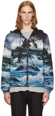 Givenchy Black Dark Hawaii Jacket