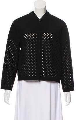 3.1 Phillip Lim Perforated Long Sleeve Jacket