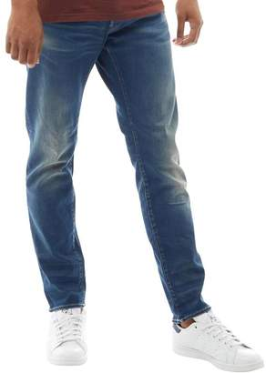 G Star G-STAR Mens 3301 Slim Jeans Medium Aged